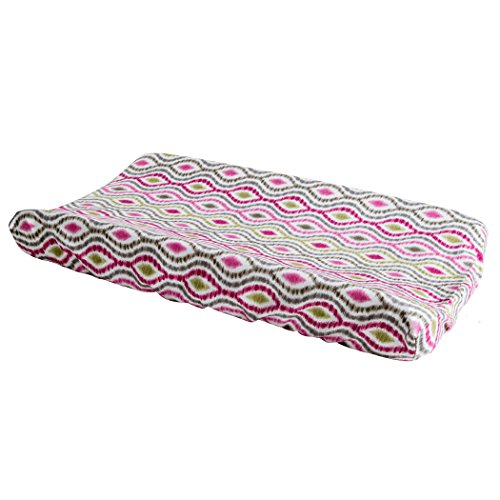 Trend Lab Waverly Jazzberry Changing Pad Cover
