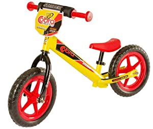 Strider Cobra No-Pedal Balance Bike, Yellow