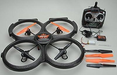 UDI RC U829A - UFO mit Kamera, 3D Quadrocopter, Drohne, 2.4 GHz, 4 Kanal, XXL