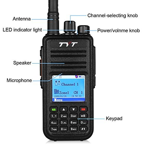 TYT MD-380 - DMR/Moto TRBO Ham Radio (Digital Ham Radio compare prices)