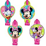 8 Count Minnie Mouse Blowouts, Multicolored