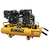 DeWalt DXCMH1608WB 8 Gallon, 5.5 HP Gas Powered Wheelbarrow Air Compressor, Portable