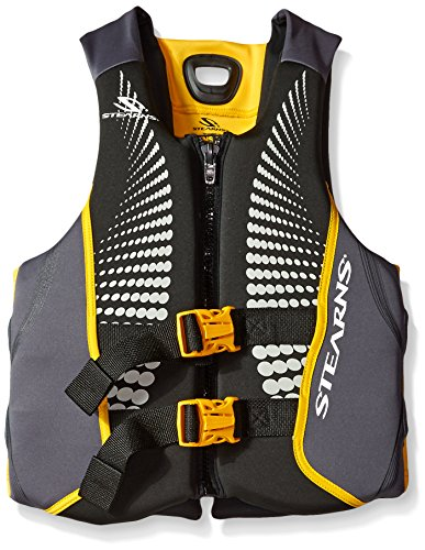 Stearns Men's V1 Series Hydroprene Life Jacket, Gold, X-Large