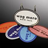 Wag More Bark Less STICKERS (5 Pack)