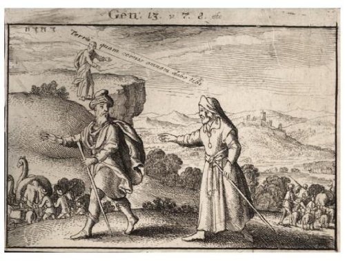 Abraham and Lot separating