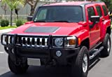 51U0cdiJjvL. SL160  Hummer H3 Grille / Brush Guard Black: 2006, 2007, 2008, 2009, 2010 Hummer H3