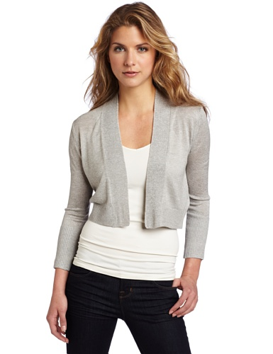 Kenneth Cole New York Women's Petite Shrug Cradigan Sweater