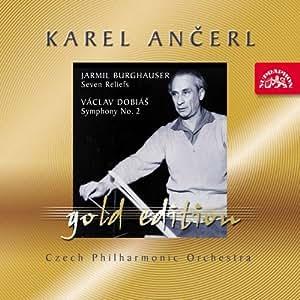ブルグハウザー:大オーケストラのための7つのレリーフ、ドビアーシュ:交響曲第2番 [Import] (ANCERL GOLD EDITION 40|ANCERL GOLD EDITION 40)