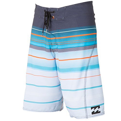 Billabong Men'S All Day Stripe X Stretch Boardshorts, Charcoal, 30