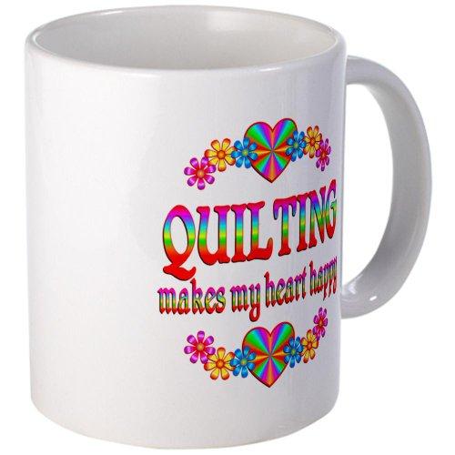 Cafepress Quilting Happy Mug - Standard