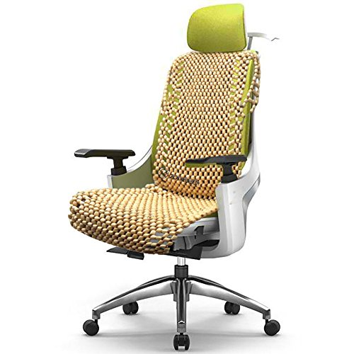 Zone-Tech-Natural-Royal-Wood-Bead-Seat-Cover-Massage-Cool-Premium-Comfort-Cushion-Reduces-Fatigue-the-Car-or-Truck-or-your-office-Chair