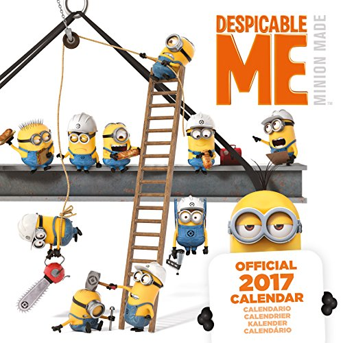 Despicable Me (Multi Language) Official 2017 Square Calendar