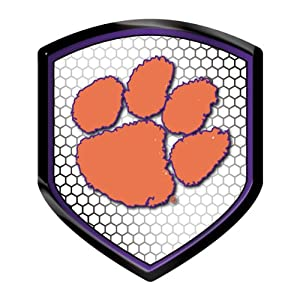 Buy Clemson Tigers NCAA Reflector Decal Auto Shield for Car Truck Mailbox Locker Sticker College Licensed Team Logo by NCAA