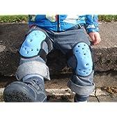 Thudguardベビー&幼児の保護膝パッドブルーやライラック