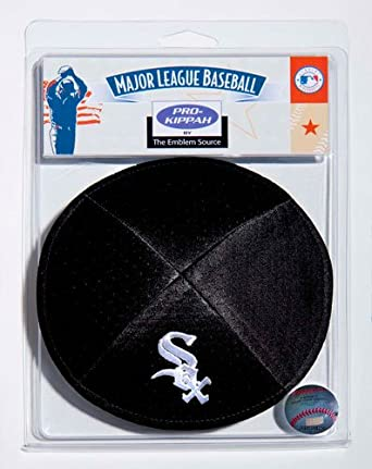 Chicago White Sox Official Kippah by Emblem Source by Emblem Source