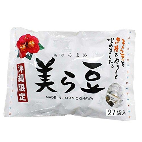 biramame-gro-270gx1-taschen-ryukyu-front-okinawa-churamame-brauner-zucker-bohnen-blockbuster-von-oki