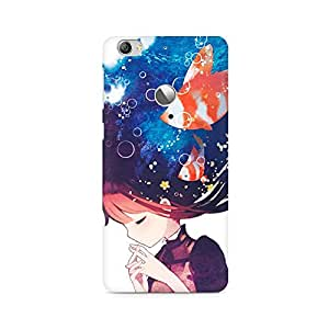 Mobicture Girl Abstract Premium Designer Mobile Back Case Cover For LETV 1S/LeEco 1S