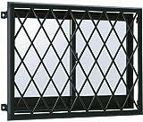 YKKAP窓まわり 面格子 ラチス面格子2LA:[幅840mm×高850mm] [YW]ホワイト