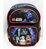 "16"" Lego Star Wars Backpack-tote-bag-school"