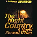 The Night Country (       UNABRIDGED) by Stewart O'Nan Narrated by John Tye