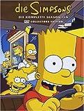 DVD Cover 'Die Simpsons - Die komplette Season 10 (Collector's Edition, 4 DVDs)