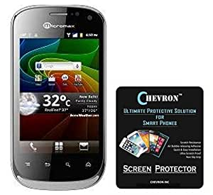 Chevron AquaShieldz Pro Ultra Clear Screen Guard Protector For Micromax A75 Superfone Lite (Pack Of 2)