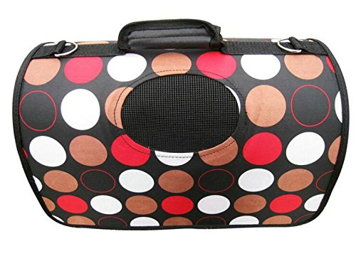 Beautiful Color Round Comfortable Dog Bag ,Hard Inside Small Durable Dog Bag