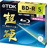 TDK Blu-ray BD-R DL Recordable Disk 50GB 6x Speed 5 Pack Ink-jet Printable (Japan Import)