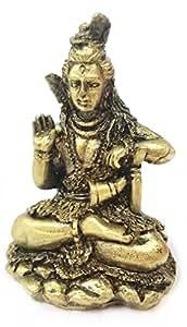 amazoncom tribal mini statues of lord shiva shiv hindu