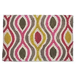 Waverly Optic Delight Tufted Bath Rug