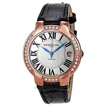 Raymond Weil Jasmine Automatic Diamond Bezel Ladies Watch 2935-PCS-00659