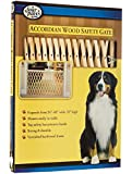 """Four Paws Wood Expansion Dog Gate, 24-60"""" W by 32"""" H"""