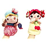 Cap Girl & Candy Girl Large Hand Puppets For Kids, 24 Cm