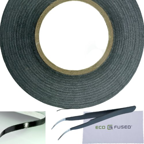 eco-fused-adhesive-sticker-tape-for-use-in-cell-phone-repair-2mm-tape-also-including-1-pair-of-tweez