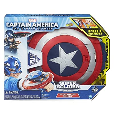Captain America Marvel Super Soldier Gear Stealthfire Shield Toy by Captain America
