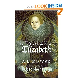The England of Elizabeth A. L. Rowse