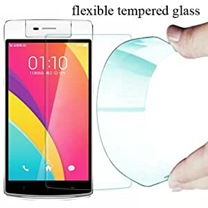 Generic curve Flexible Tempered Glass Oppo R 7 ( Buy 1 Get 1 Free )