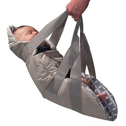 Best Buy! KidCo SwingPod Infant Portable Swaddle Swing, Gray