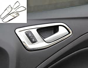 new 2013 abs chrome door handle cover for ford escape ford