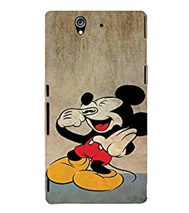 EPICCASE Funny mouse Mobile Back Case Cover For Sony Xperia Z (Designer Case)