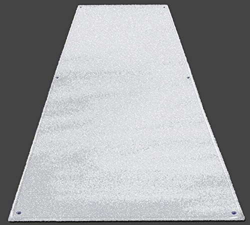 Outdoor Turf Wedding Aisle Runner - White - 3' x 20' - Many Other Sizes to Choose From