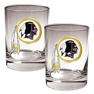 NFL Two-Piece Rocks Glass Set by Great American Products