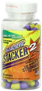 Stacker 2 Fat Burner Capsules, Ephedra Free, 100-Count Bottle