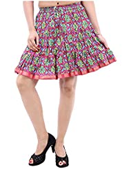 Sunshine Enterprises Women's Cotton Wrap Skirt (Purple)