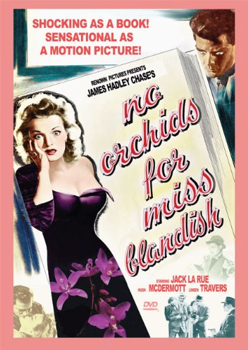Cover art for  No Orchids for Miss Blandish: B&W Amar