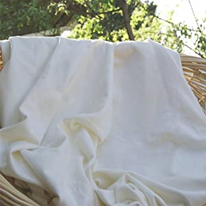 Bamboo Fleece Fabric, Certified Organic, Sold By the Yard