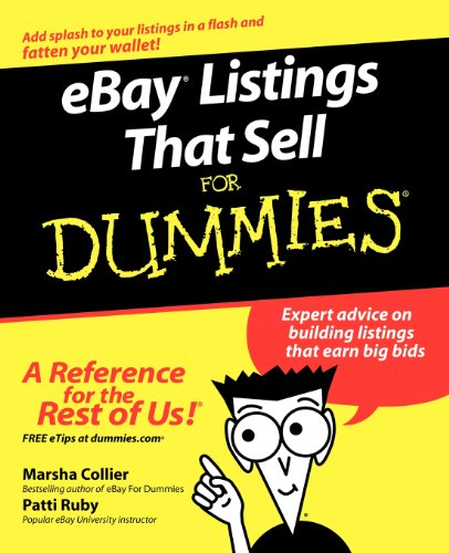 eBay Listings That Sell For Dummies (For Dummies (Computers))