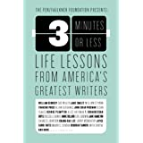 3 Minutes or Less: Life Lessons from America's Greatest Writers price comparison at Flipkart, Amazon, Crossword, Uread, Bookadda, Landmark, Homeshop18