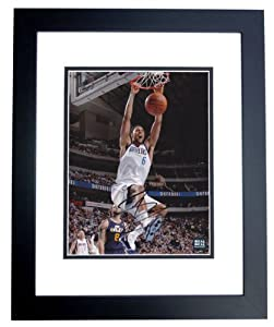 Tyson Chandler Autographed Hand Signed Dallas Mavericks 8x10 Photo - BLACK CUSTOM... by Real Deal Memorabilia