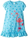 Petit Lem Girls 2-6X Flamingo Love Nightgown